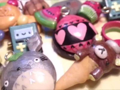 Polymer Clay Charm Update #6