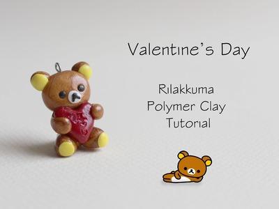 Polymer Clay Tutorial: Rilakkuma Valentine's Day