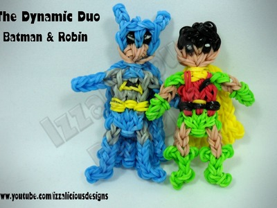 Rainbow Loom Batman Action Figure.Charm (Adam West version) - Gomitas