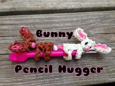Rainbow Loom- Bunny Pencil Hugger- Pencil Hugger Series
