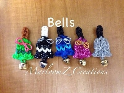 Rainbow Loom Christmas Bell Tutorial - Kerstklokje Nederlands