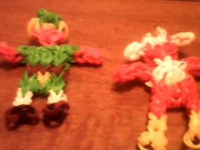 Rainbow  loom video game characters