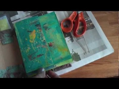 Scrapbook: Recycled journal tutorial Pt2
