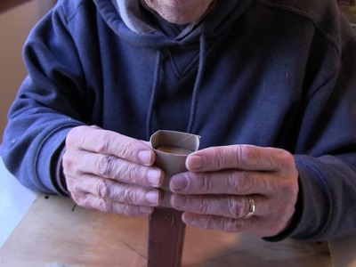 Seed Starting Pots: Toilet paper rolls for making seed pots- twobitguru.com