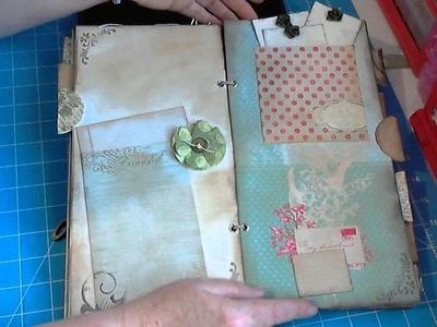 SOLD! Wedding Guest Book Handmade by Scrapbookgiggles
