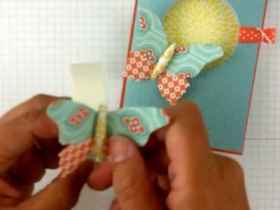 Stampin' Up! Beautiful Butterflies with Paper Rolling