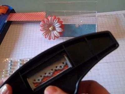 Stampin Up Business Card Holder