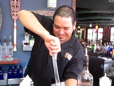 "Todd shows how to make a ""Caipirissima"" a caipirinha made with rum instead of cachaça."