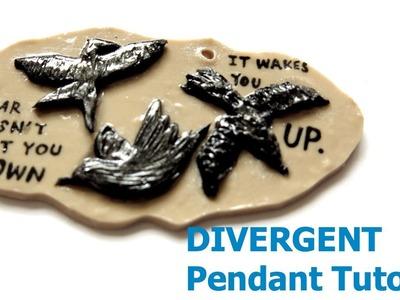 Tris's Tattoo (Divergent) Polymer Clay Pendant Tutorial