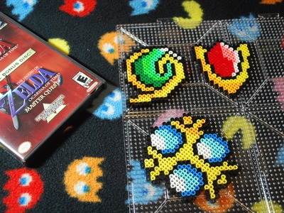 ~ Zelda ~ Spiritual Stones Perler Beads ~ (Stop Motion)
