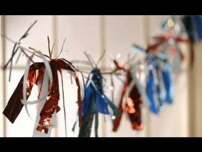 4th of July Decorations: Make This Easy Firecracker Garland