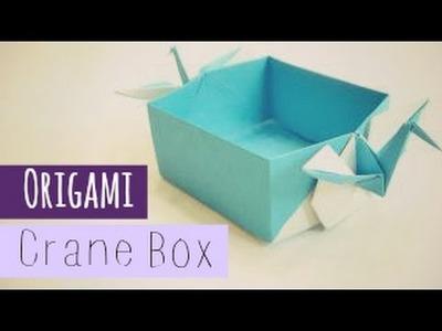 Crane Box Origami instructions (Tsuru Box, by Tadashi Mori)