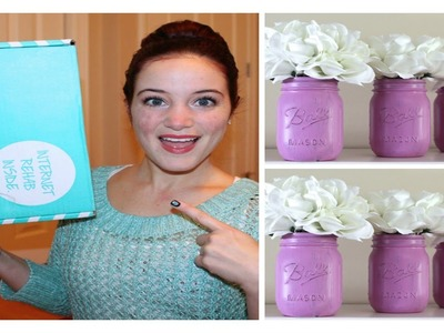 DARBY SMART UNBOXING: OMBRE MASON JARS