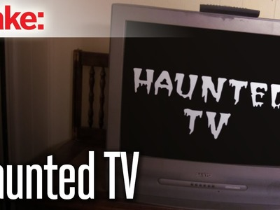 DIY Hacks & How To's: Haunted TV