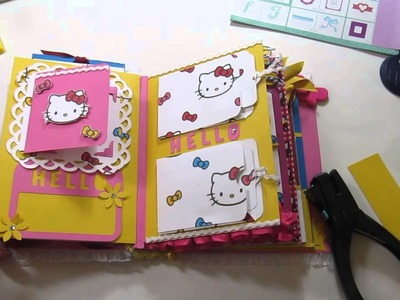 Envelope Mini Album -  Hello Kitty