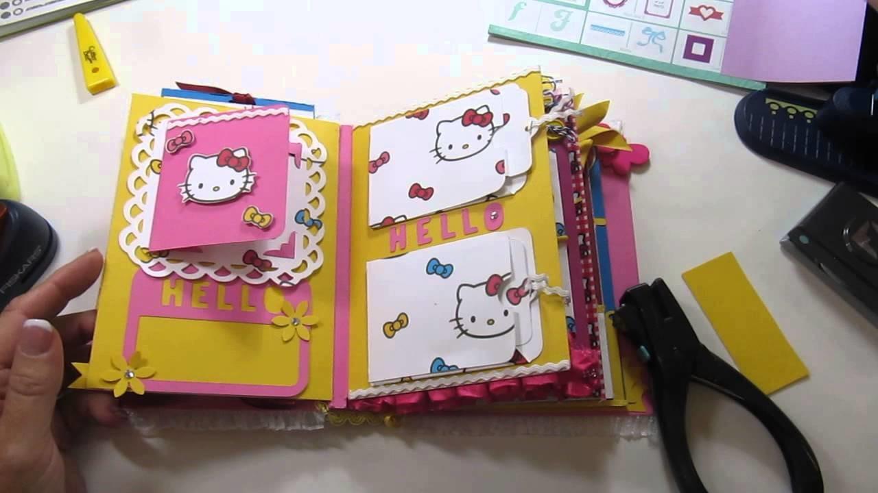 Envelope Mini Album -  Hello Kitty
