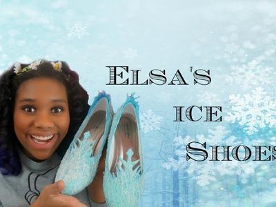Frozen Cosplay: Creating Elsa's Ice shoes | Nerdy Mermaid