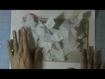 "Gratitude Friday Card Making Tutorial: ""Rice Paper and Watercolors"""