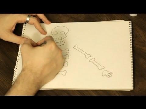 How Do I Build Skeleton Arts & Crafts for Kids? : Art & Drawing Tips