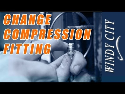 How to change a compression fitting on pilot line tutorial DIY Windy City Restaurant Equipment Parts