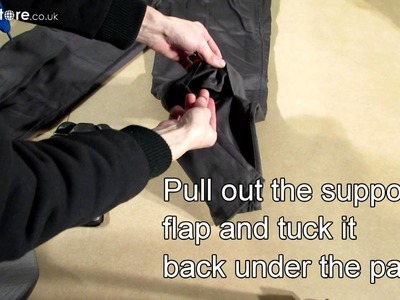 How to fit Dickies Knee Pads (Sa66)