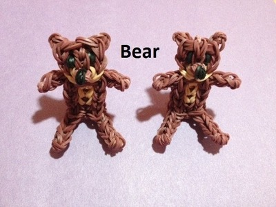 How to Make a Bear on the Rainbow Loom - Original Design