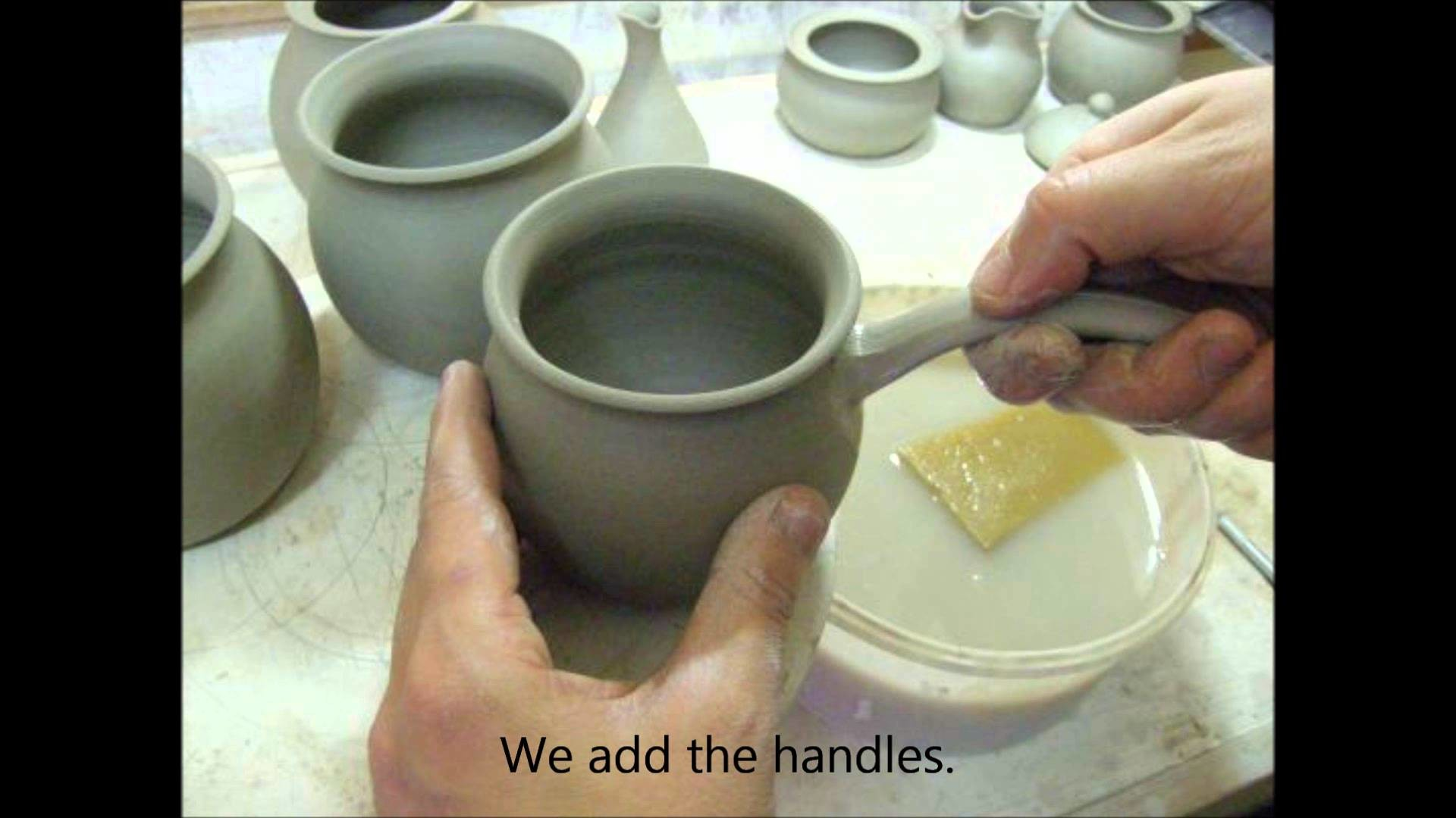 How to Make a Ceramic Pottery Tea Set: Step-by-step demonstration www.purrfect-ceramics.co.uk