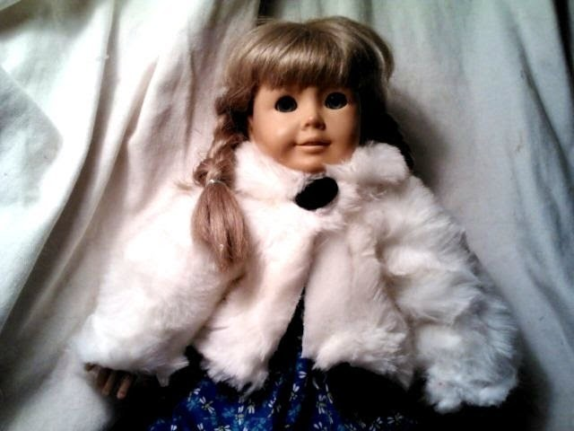 How to make a fur jacket for an 18 inch doll