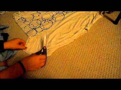 How to make a Hobo Bag from a t-shirt