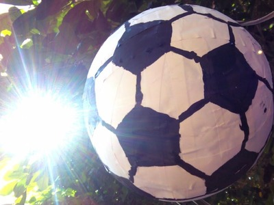How To Make a Soccer Ball Pinata - DIY Home Tutorial - Guidecentral