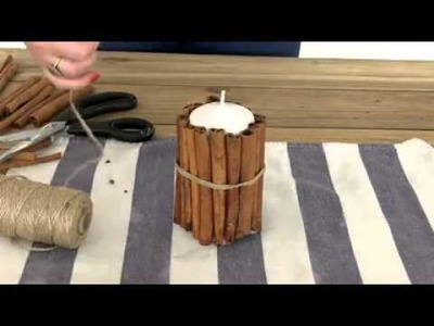 How to Make, Cinnamon Candles by Hannah Read-Baldrey