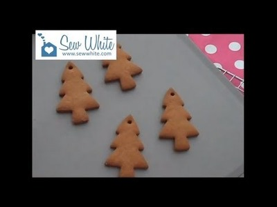 How to Make Gingerbread Biscuit Hanging Decorations for Christmas