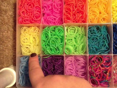 How To Organize Rainbow Loom Rubber Bands - Second Box