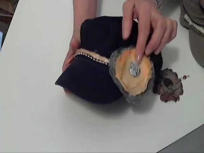 Ideas on Embellishing Military Hats-Cute Summer Accessory