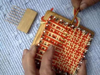 Making a weavie.MPG
