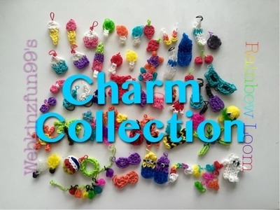 My Rainbow Loom Charm Collection