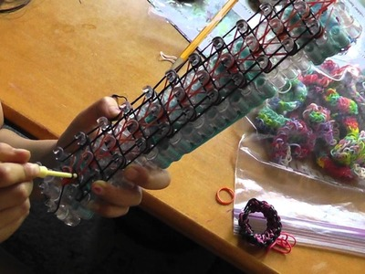 New Rainbow Loom Tiger Strip