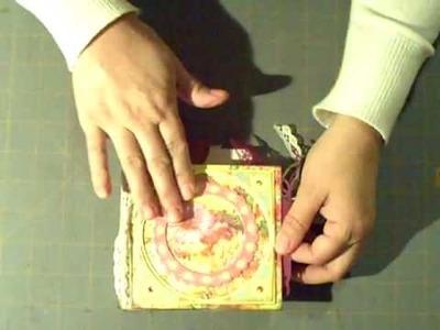 Paperbag mini-album Scrapbook