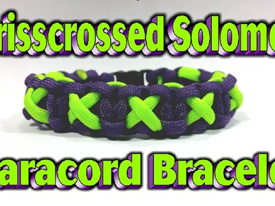 Paracord How To Make A Modified Crisscrossed Solomon Bar With Buckles