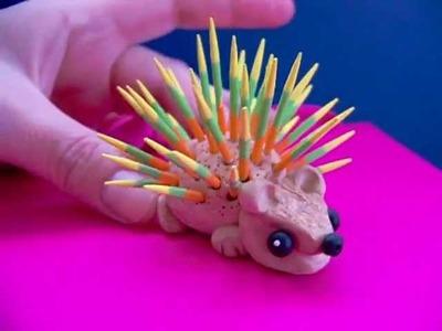 Polymer clay Hedgehog
