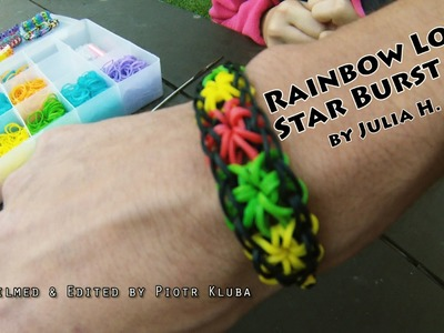 Rainbow Loom - StarBurst | the best tutorial