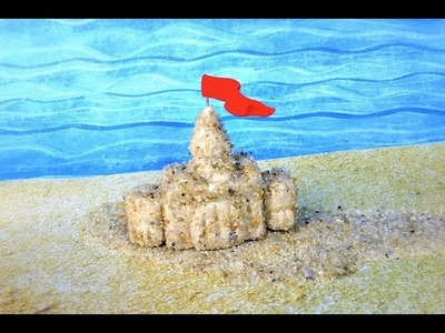 SAND CASTLE - Polymer Clay Tutorial