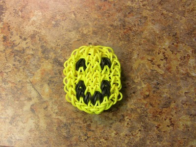 Smiley Face (Happy Face) Rainbow Loom Bracelet