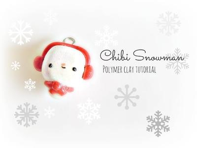Snowman Chibi ♥ Polymer Clay Tutorial
