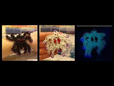 Spider Charm Rainbow Loom Bracelet