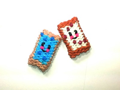 3-D Happy Pop Tart Tutorial by feelinspiffy (Rainbow Loom)