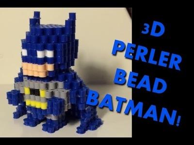 3D Perler Bead Batman!