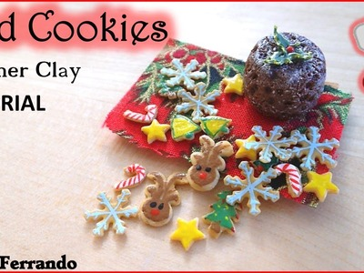 Christmas Advent Calendar: 3rd Day - Iced Cookies - Polymer Clay TUTORIAL