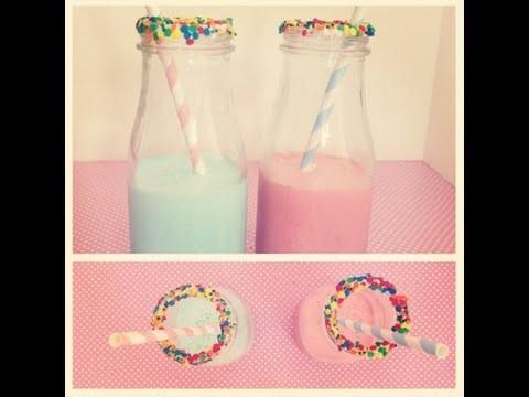 Cupcake Milkshakes | Red Velvet & Cotton Candy