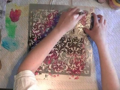 Decorating a paper bag (ENGLISH)